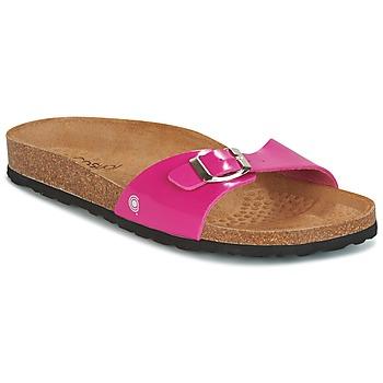 Zapatos Mujer Zuecos (Mules) Casual Attitude CHASTO Fucsia / Carbón