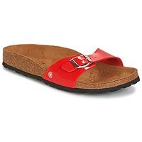 Zapatos Mujer Zuecos (Mules) Casual Attitude CHASTO Rojo / Carbón