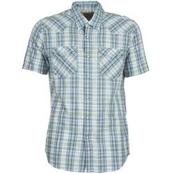 textil Hombre camisas manga corta Levi's WOVENS Azul