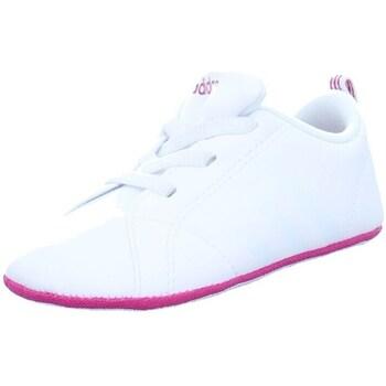 Zapatos Niños Zapatillas bajas adidas Originals VS Advantage Crib Blanco