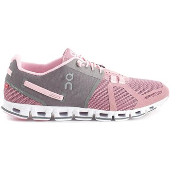 Zapatos Zapatillas bajas On Running ONCLOUD WOMAN CHARCOAL ROSE Rosa