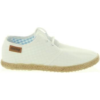 Zapatos Niño Alpargatas MTNG 47105 LANDY Blanco