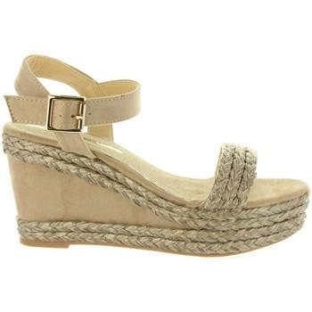 Zapatos Mujer Alpargatas Maria Mare 67175 Marrón