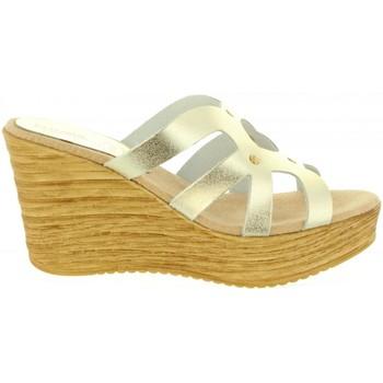 Zapatos Mujer Sandalias Cumbia 30986 Plateado