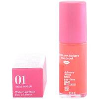 Belleza Mujer Gloss  Clarins Eau À Lèvres 01-rose Water  7 ml