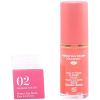 Belleza Mujer Gloss  Clarins Water Lip Satin Eau À Lèvres 02-orange Water 7 ml