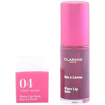 Belleza Mujer Gloss  Clarins Eau À Lèvres 04-violet Water  7 ml