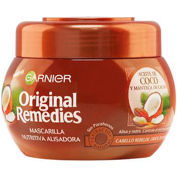 Belleza Acondicionador Garnier Original Remedies Mascarilla Aceite Coco Y Cacao