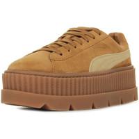 Zapatos Mujer Zapatillas bajas Puma Rihanna Cleated Creeper Suede Marrón