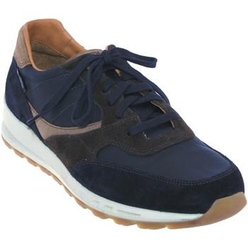 Zapatos Hombre Zapatillas bajas Mephisto Telvin Cuero azul marino