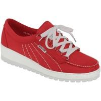 Zapatos Mujer Zapatillas bajas Mephisto Lady Rojo nobuck