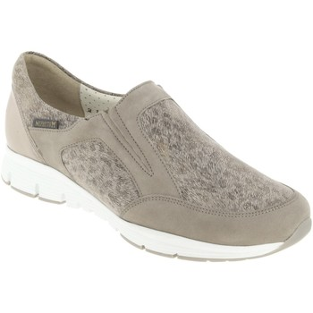 Zapatos Mujer Slip on Mephisto Yelda Nobuck gris pardo
