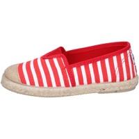 Zapatos Niño Alpargatas Cienta alpargatas rojo textil blanco profumate BX287 rojo
