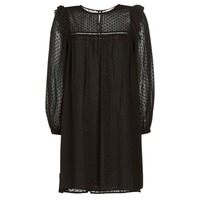 textil Mujer vestidos cortos Moony Mood BREYAT Negro
