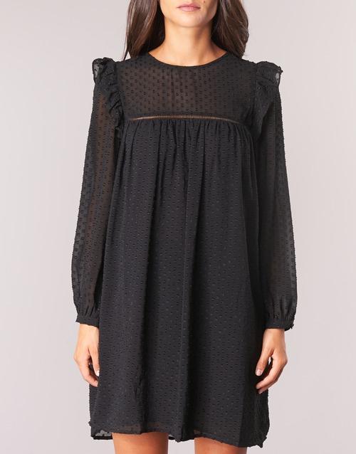 Cortos Negro Breyat Vestidos Mujer Mood Moony Textil UGMpqSzV