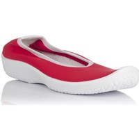 Zapatos Mujer Tenis Arcopedico LOLITA PISO BLANCO-LICRA ROJA ROJO