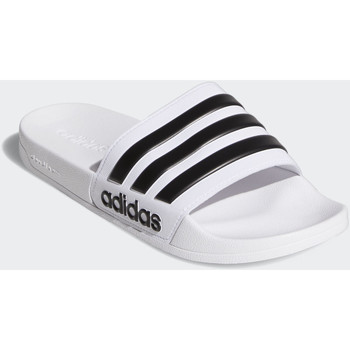 Zapatos Hombre Chanclas adidas Originals Chancla Adilette Shower Blanco