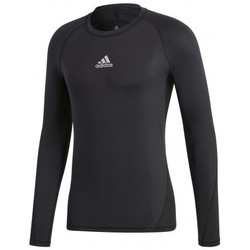 textil Hombre camisetas manga corta adidas Originals Alphaskin Sport LS Negro