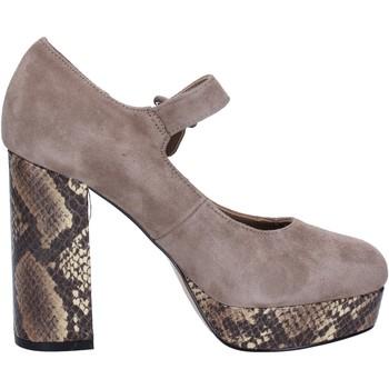Zapatos Mujer Zapatos de tacón Emanuélle Vee BX385 beige