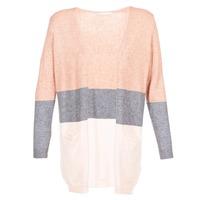 textil Mujer Chaquetas de punto Only ONLQUEEN Rosa / Gris