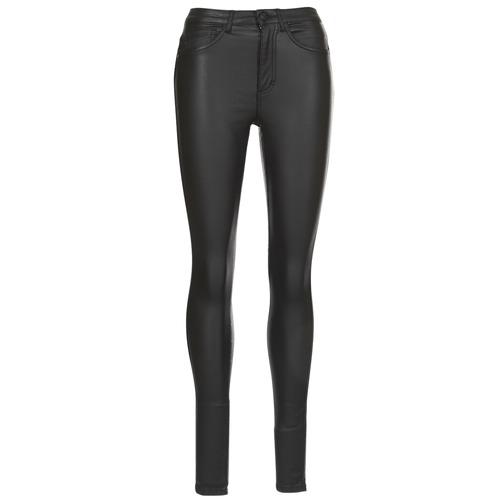 Only ONLROYAL Negro - Envío gratis | ! - textil pantalones con 5 bolsillos Mujer