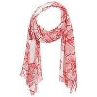 Accesorios textil Mujer Bufanda André ROXANE Rojo