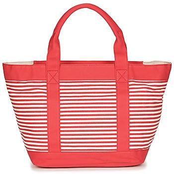 Bolsos Mujer Bolso shopping André JENNY Rojo / Blanco