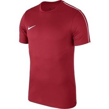 textil Hombre camisetas manga corta Nike Park 18 Rojo