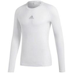 textil Hombre Camisetas manga larga adidas Originals Alphaskin Sport LS Blanco