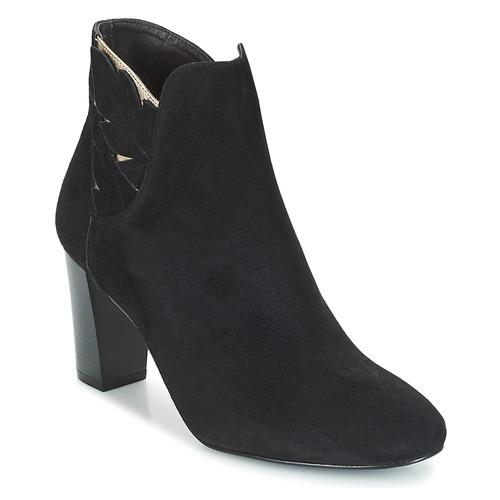 Bocage Negro Zapatos Botines Mujer Emmanuel v0nwmN8