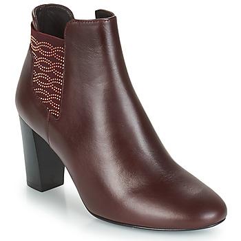 Zapatos Mujer Botines Bocage ELYSEE Burdeo