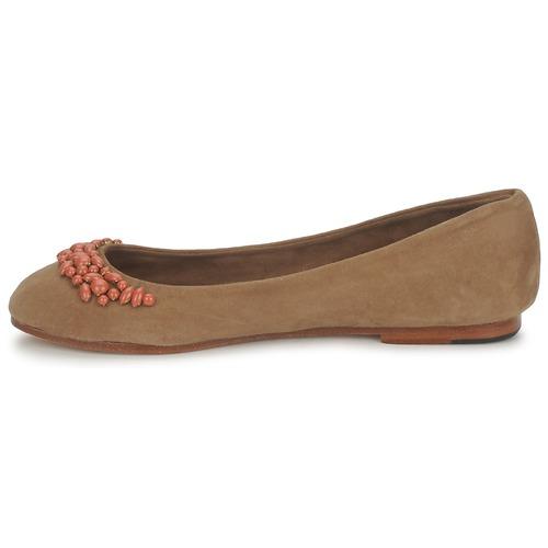 Ambre Camel Bailarinas manoletinas Zapatos Duffy Mujer Babzoe j5cS34RLAq