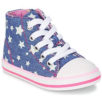 Zapatos Niña Zapatillas altas Chicco CREMIXI Denim / Estrella