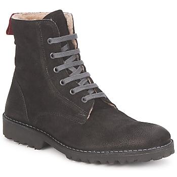 Zapatos Mujer Botas de caña baja Swamp STIVALETTO LANA Negro