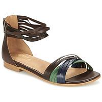 Zapatos Mujer Sandalias Casual Attitude FRANTO Marrón