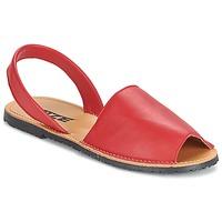 Zapatos Mujer Sandalias So Size LOJA Rojo