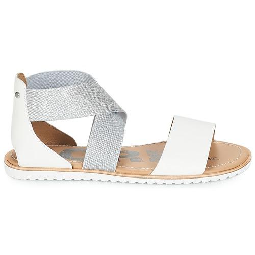 Sorel Ella™ Mujer Blanco Zapatos Sandalias Sandal 80OXnwPk