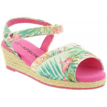 Zapatos Niña Alpargatas Sprox 273173-B4600 Rosa