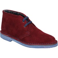 Zapatos Mujer Low boots Italiane By Coraf ITALIANE botines burdeos gamuza BX657 rojo
