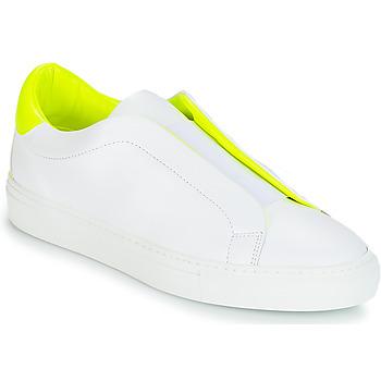 Zapatos Mujer Zapatillas bajas KLOM KISS Blanco / Amarillo