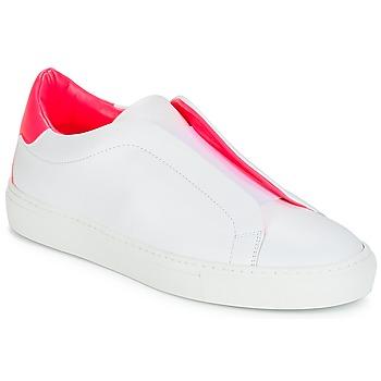 Zapatos Mujer Zapatillas bajas KLOM KISS Blanco / Rosa