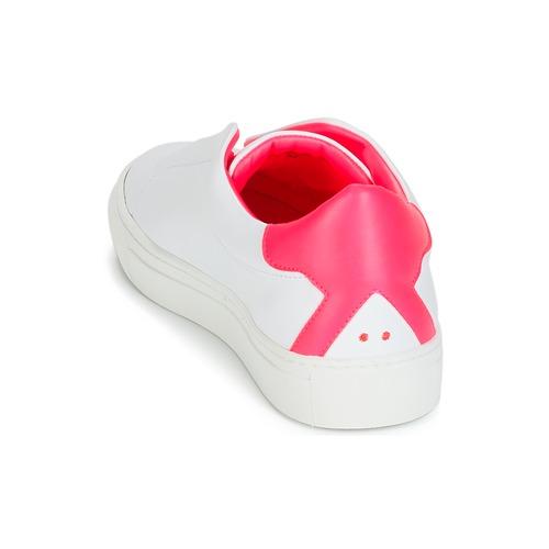 BlancoRosa Bajas Zapatos Klom Zapatillas Mujer Kiss vw8N0nOm