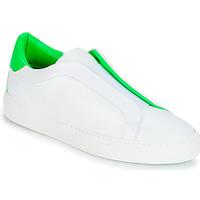 Zapatos Mujer Zapatillas bajas KLOM KISS Blanco / Verde