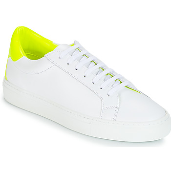 Zapatos Mujer Zapatillas bajas KLOM KEEP Blanco / Amarillo