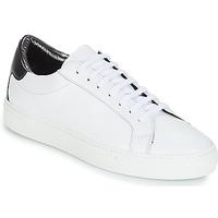 Zapatos Mujer Zapatillas bajas KLOM KEEP Blanco / Plateado
