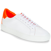 Zapatos Mujer Zapatillas bajas KLOM KEEP Blanco / Naranja