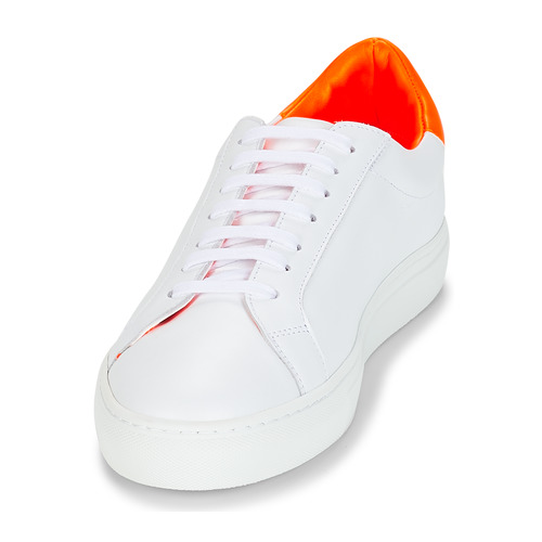 Zapatos Klom Bajas BlancoNaranja Mujer Zapatillas Keep wkTOilZPXu