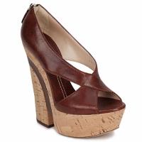 Zapatos Mujer Sandalias Casadei ELEANORE Castaño