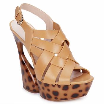 Zapatos Mujer Sandalias Casadei MAGGY SWEET / Natural