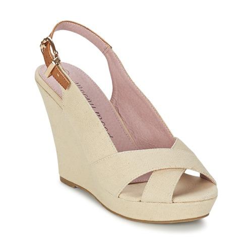 Zapatos Mujer Sandalias Moony Mood AKOLM Beige